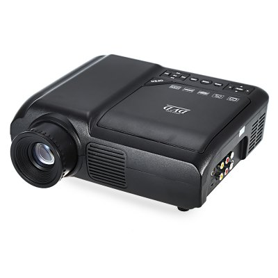 EPL007 Portable LCD Projector DVD Player Multimedia Home Theater 60 Lumens 320 x 240 Native Resolution