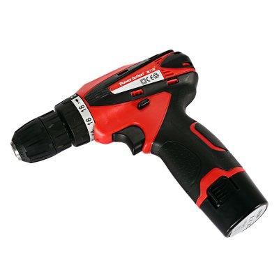 POWERACTION CD6262 12V Electric Screwdriver Power ToolPower Drill<br>POWERACTION CD6262 12V Electric Screwdriver Power Tool<br><br>Brand: POWERACTION<br>Model: CD6262<br>Package Contents: 1 x Electric Screwdriver ( with Battery ), 1 x Charger ( 1m Line ), 1 x Case<br>Package size (L x W x H): 30.00 x 8.00 x 25.00 cm / 11.81 x 3.15 x 9.84 inches<br>Package weight: 1.8650 kg<br>Product size (L x W x H): 19.00 x 3.50 x 18.50 cm / 7.48 x 1.38 x 7.28 inches<br>Product weight: 0.9110 kg<br>Special Functions: Electric Screwdriver Hand Power Tool