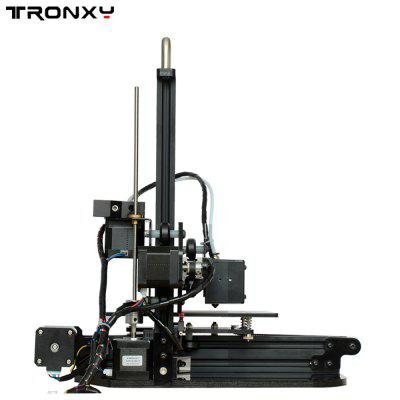 Tronxy X1 Desktop 3D Printer flsun 3d printer big pulley kossel 3d printer with one roll filament sd card fast shipping