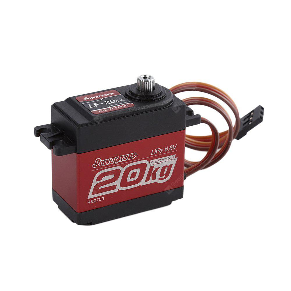 Spare Power HD LF - 20MG 20KG Digital Servo for 1 / 10 1 / 8 Scale ...
