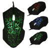 X9 USB Wired Optical Gaming Mouse - BLACK