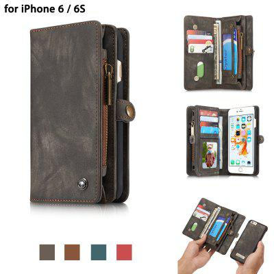 CaseMe PU Leather Wallet Phone Cover Case for iPhone 6 / 6S