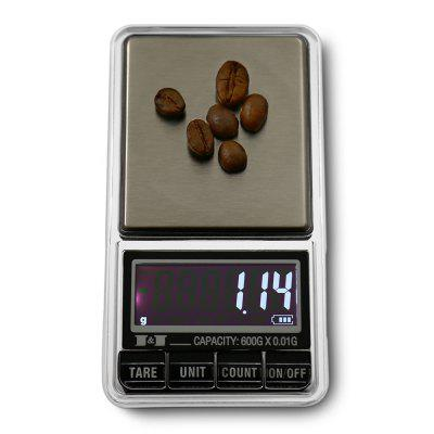 DS - 29 600g Mini LCD Screen Digital Jewelry Scale