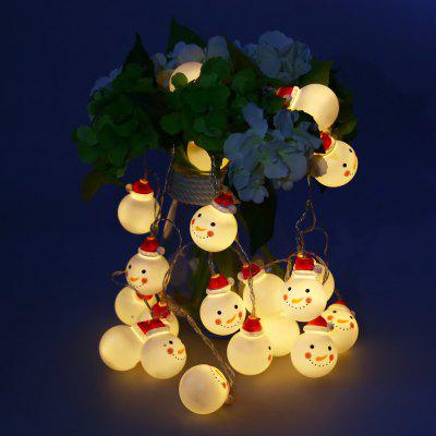 BRELONG Christmas Snowman LED String Light