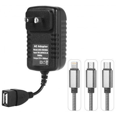 3A Quick Charge USB Wall Charger Power Adapter