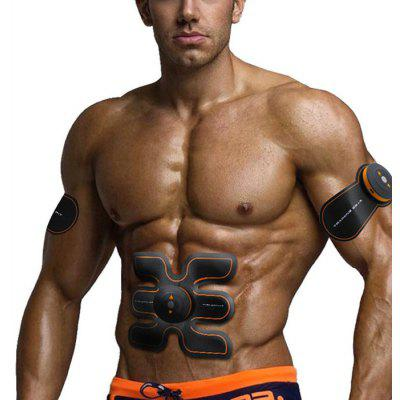 SHANDONG SD - 400 EMS Muscle Training Gear - US PLUG BLACK AND ORANGE