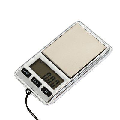 DS - 22 Pocket LCD Digital Jewelry Scales with BacklightDigital Scales<br>DS - 22 Pocket LCD Digital Jewelry Scales with Backlight<br><br>Material: Others<br>Model: DS - 22<br>Package Contents: 1 x Mini LCD Digital Jewelry Scale ( with Battery ), 1 x Bag<br>Package size (L x W x H): 10.00 x 7.20 x 3.00 cm / 3.94 x 2.83 x 1.18 inches<br>Package weight: 0.0710 kg<br>Product size (L x W x H): 7.50 x 4.30 x 1.20 cm / 2.95 x 1.69 x 0.47 inches<br>Product weight: 0.0350 kg<br>Type: Digital Scale, Jewelry Scale