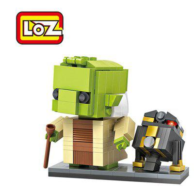 LOZ ABS 228pcs Movie Character Robot Building Block