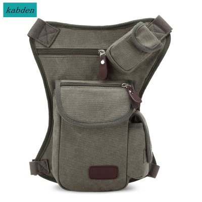 Kabden 4L Waist Leg Pack for Outdoor Cycling Practical Tactical Package