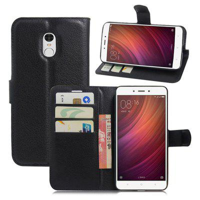 Litchi Grain PU Leather Full Body Protective Case for Xiaomi Redmi Note 4