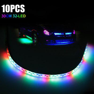 10pcs 30CM Car Light Strip