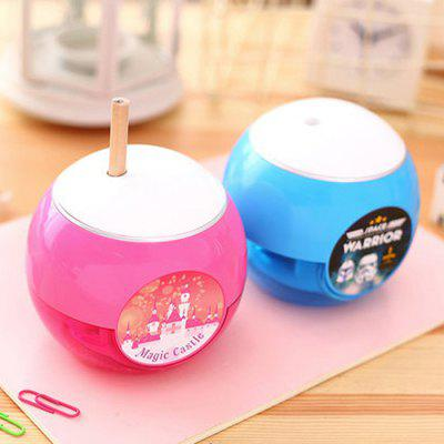 Buy COLORMIX Deli 0709 Cartoon Round Shape Electric Pencil Sharpener for $19.80 in GearBest store