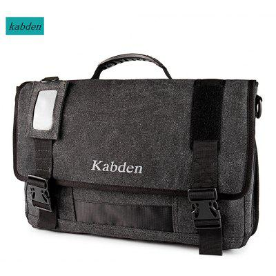 Buy BLACK Kabden 8601 Canvas Sling Bag for $21.20 in GearBest store