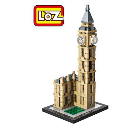 LOZ Elizabeth Tower World Assembly Toy