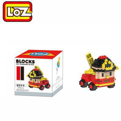 LOZ 8311 Cartoon Building Block Educational Decoration Toy for Spatial Thinking - 220Pcs