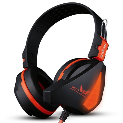 Cuffie da Gaming Professionali OVANN X17 Effetto Luminoso