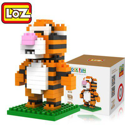 LOZ 100Pcs M - 9170 Tiger Building Block Educational Toy for Brain Thinking