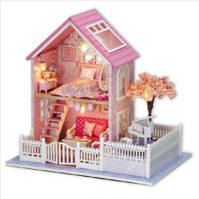 DIY Miniature House Shape Art Handicraft Toy