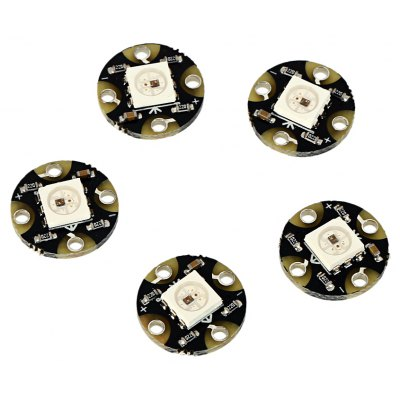 LDTR - LB0002 5PCS Mini WS2812B RGB LED Full-color Module