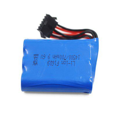 9.6V 700mAh Lithium-ion Battery with XH - 6P Plug