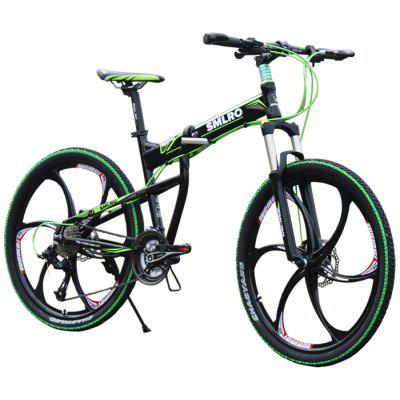 SMLRO MX200 27 Speed Folding Mountain Bike