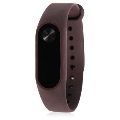 Pure Color TPU Watch Strap for Xiaomi Miband 2