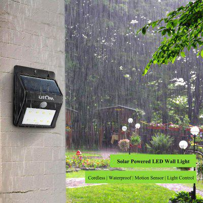 Litom Solar Motion Sensor Light