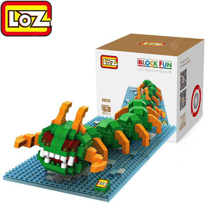 Buy LOZ 369620 Pixel Wars Centipede Building Block Toy Enhancing Social Cooperation Ability COLORMIX