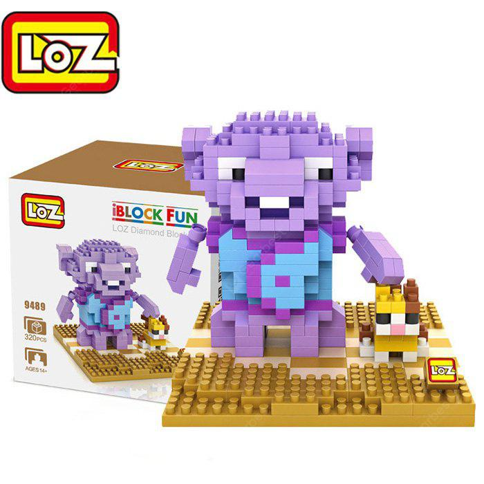 LOZ 329489 Crazy Alien Oh Figure Building Block Toy Enhancing Social Cooperation Ability PURPLE