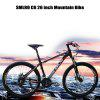 SMLRO C6 26 inch Mountain Bike - RED WITH BLACK