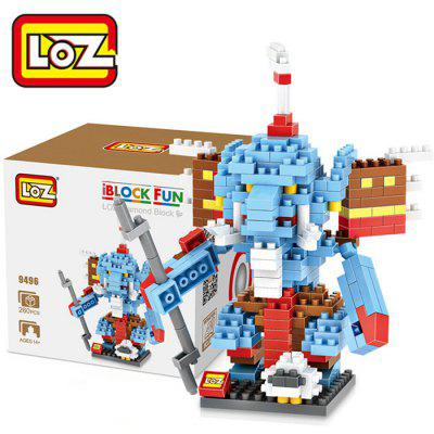 LOZ L - 9496 Warcraft Shadow Hunter Micro Diamond Building Block 260Pcs Educational Toy