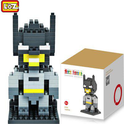 LOZ 140Pcs M - 9153 Batman Building Block Educational Assembling Boy Girl Gift for Spatial Thinking