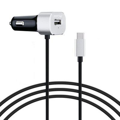 Mpow MC15 Car Charger with Type-C Cable