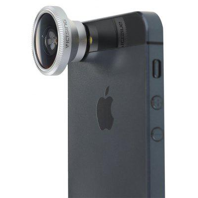 VicTsing 3-in-1 Portable Detachable Phone Camera Lens Kit