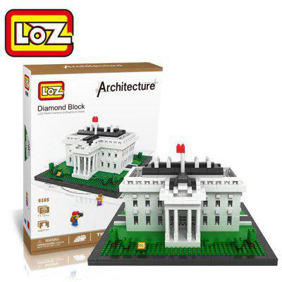 LOZ 1170Pcs 9386 The White House Building Block