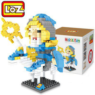 LOZ L - 9502 Warcraft Gandalf Micro Diamond Building Block 310Pcs Educational Toy