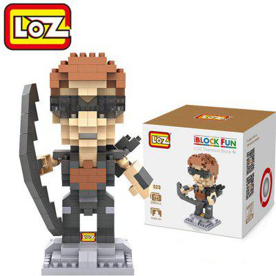 LOZ 290Pcs L - 9523 The Avengers Eagle Eye Building Block Educational Toy for Brain Thinking
