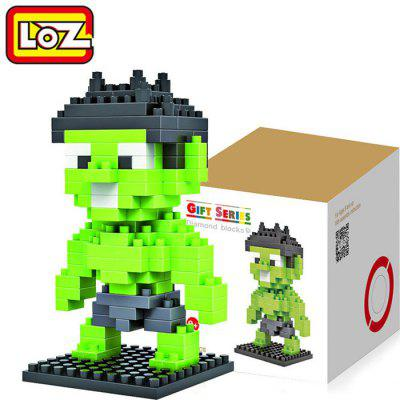 LOZ 130 Pcs M - 9155 Hulk Building Block Educational Assembling Boy Girl Gift for Spatial Thinking