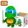 Buy LOZ 21M - 9151 Teenage Mutant Ninja Turtles Leonardo Building Block Educational Assembling Boy Girl Gift Spatial Thinking GREEN