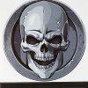 STICKERBOMB Skull Paster for Xiaomi Robot Cleaner - GRAY