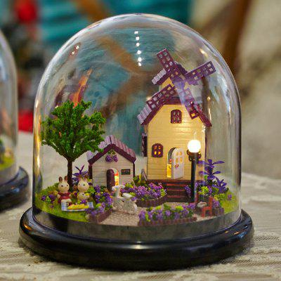 Miniature House Shape DIY Art 3D Jigsaw Puzzle