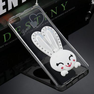 Cartoon Rabbit TPU Soft Phone Back Case for Xiaomi 5S