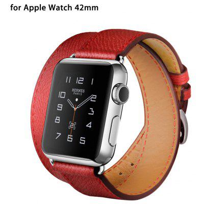 HOCO banda de reloj de cuero genuino para Apple Watch 42mm