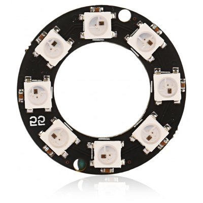 LDTR - Y0008 WS2812B 5050 RGB LED Smart RGB Ring