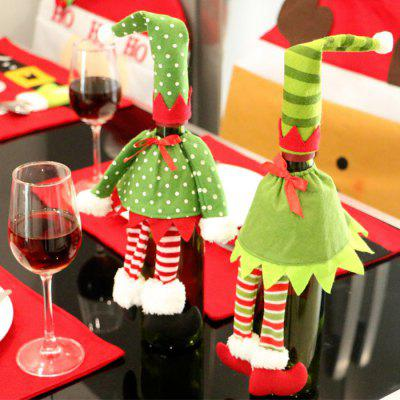 Christmas Creative Party Bottle Wine Cover