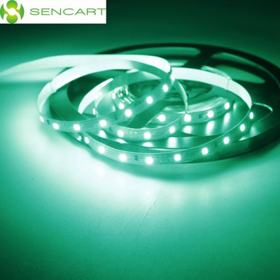 5 Meters x 60 SMD - 2835 LEDs 1500LM Cuttable Adhesive Green LED Light Strip ( 30W DC 12V )