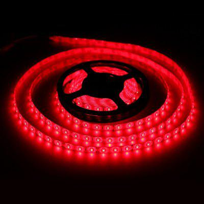 5 Meters x 60 SMD - 2835 LEDs 1500LM Cuttable Adhesive Red LED Light Strip ( 30W DC 12V )