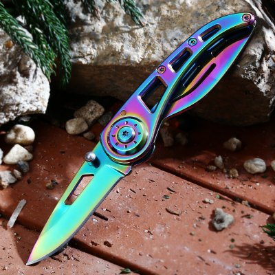 PA38 Frame Lock Folding Rescue Knife 3Cr13Mov Stainless Steel Blade vik max adult kids dark blue leather figure skate shoes with aluminium alloy frame and stainless steel ice blade