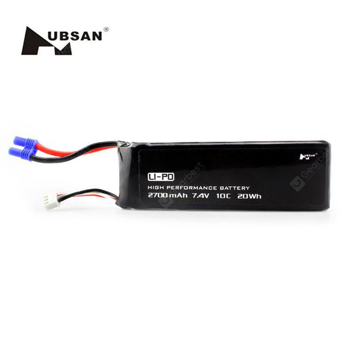 Remote Control Quadcopter Spare Parts 7.4V 2700mAh 10C Battery for Hubsan H501S H501C