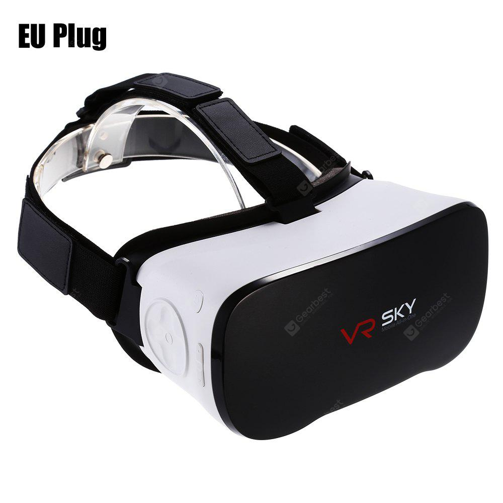 VR SKY CX - V3 All-in-one 3D Virtual Reality Headset - WHITE AND BLACK